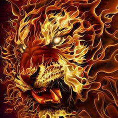 It's like a lion and a Phoenix mixed! Super cool!