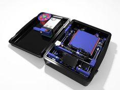 printer design printer projects printer diy Printing Info Printing Info Bergen Makerspace Transportable Printer: 56 Steps (with P. Make 3d Printer, Color 3d Printer, 3d Printing Companies, 3d Printing Service, Automatic Blinds, Learn Robotics, Prusa I3, 3d Printer Designs, 3d Cnc