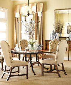 Hickory Chair Marlboro Dining Chairs Showroom Details Henredon Interior Design Showroom Dining Room Walls
