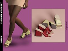 The Sims 4 Florence Welch Shoes Sims Four, Sims 4 Mm, Sims 4 Mods Clothes, Sims 4 Clothing, The Sims 4 Packs, Sims 4 Cc Shoes, Sims 4 Cc Makeup, Sims 4 Cc Skin, The Sims 4 Download