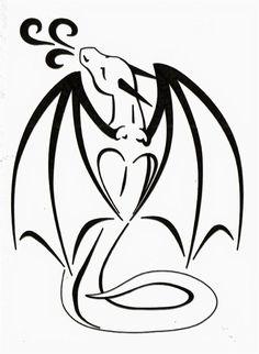 Dragon Love Tattoo by *TsukiTsu on deviantART