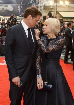Pin for Later: 27 Celebrities Who Couldn't Resist the Flirtatious Charm of Helen Mirren Colin Firth