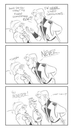 Sandwiches (BEWARE, THAR BE SPOILERS HERE) by ComickerGirl on deviantART
