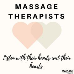 Massage therapists tend to listen not only with their hands but also with their … - All About Health Massage Tips, Massage For Men, Massage Quotes, Massage Benefits, Good Massage, Massage Meme, Massage Wellness, Health Benefits, Spa Quotes