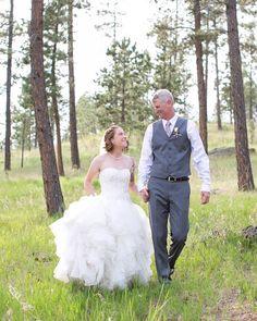 Heather and Chris . . . #BlackHillsReceptions - photo credit Cadey Reisner Weddings