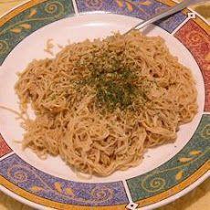 Creamy Peanut Butter Spaghetti