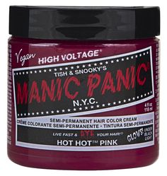 Manic Panic Semi-Permament Haircolor Hot Hot Pink 4oz Jar (2 Pack) *** More info could be found at the image url.