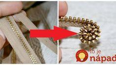 Keby sme to nevideli, neuveríme: Žena odpárala zips zo starých nohavíc a začala ho stáčať, toto vytvorila! Zipper Pulls, Wire Jewelry, Good Things, Creative, Ideas, Zipper, Wire Wrapped Jewelry, Wire Wrap Jewelry, Thoughts