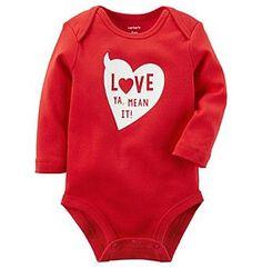 Carter's Valentines Day Bodysuit