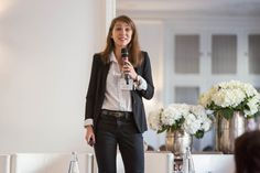 Audrey Détrie, Country Manager France et Benelux chez Trainline Salons, Bomber Jacket, France, Country, Jackets, Fashion, Down Jackets, Moda, Lounges
