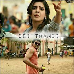 Tamil Movie Love Quotes, Love Lyrics Quotes, Favorite Movie Quotes, Film Quotes, Movie Memes, Movie Songs, Movies, South Quotes, Tamil Jokes