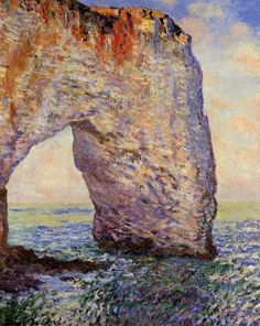 Claude Monet: The Manneporte near Etretat (1886)