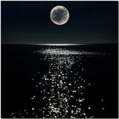 And when I looked the Moon had turned to gold...
