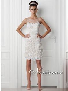 abiti da sposa noviamor corti