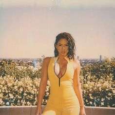Cassie Ventura has shared a couple of cleavage-baring photos hours after her split from Diddy was announced.The singer/actress shared the ph. World Most Beautiful Woman, Beautiful Black Women, Beautiful Ladies, Cassie Ventura Instagram, Foreign Celebrities, Doja Cat, Yellow Fashion, Hollywood Life, African Beauty