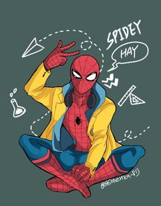 Collection of SpiderSon, Irondad and Avengers moments! Major fluff, cringe and cliche warning REQUESTS OPEN! Marvel Memes, Marvel Dc Comics, Marvel Avengers, Ms Marvel, Captain Marvel, Spiderman Kunst, Spiderman Anime, Spiderman Drawing, Spiderman Marvel