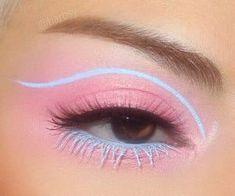 Makeup Eye Looks, Eye Makeup Art, Colorful Eye Makeup, Beautiful Eye Makeup, Crazy Makeup, Cute Makeup, Pretty Makeup, Skin Makeup, Makeup Inspo