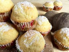 Sweet Recipes, Cake Recipes, Snack Recipes, Dessert Recipes, Cooking Recipes, Snacks, Coconut Flour Recipes, Baking Muffins, Oat Muffins