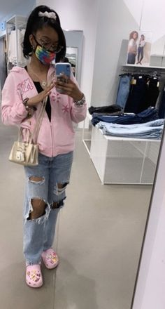 Baddie Outfits Casual, Swag Outfits For Girls, Teenage Girl Outfits, Cute Swag Outfits, Chill Outfits, Teenager Outfits, Dope Outfits, Teen Fashion Outfits, Pretty Outfits