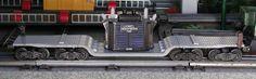 Lionel postwar # 6518 Transformer flatcar.