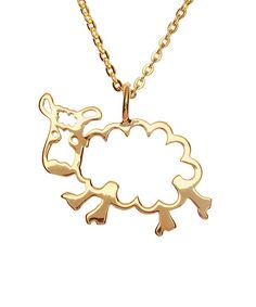 adjustable inch chain Materials: Gold Plate, Rose Gold and Sterling Silver Fancy yourself an animal lover? Shop our Menagerie Collection now. Sheep Ears, Sheep Pen, Sheep Template, Sheep Cupcakes, Sheep Drawing, Sheep Costumes, Sheep Tattoo, Diy Jewelry, Jewelry Box