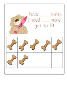 $2.75 on TPT Number Bonds, Complements and 10 Frame Activities