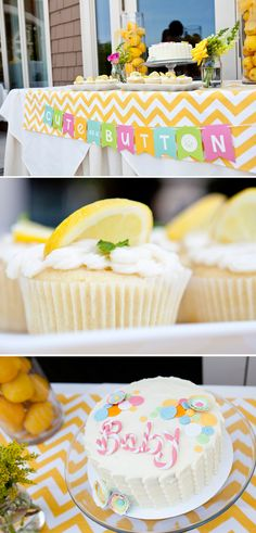 Cute as a button baby shower theme.  I want to throw a shower for someone!