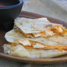 Taco Bell Quesadillas. I am seriously addicted to these. Maybe I can save some money. :)