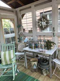 Garden Art, Home And Garden, Backyard Buildings, Glass Houses, Garden Houses, Outdoor Spaces, Outdoor Decor, Sunrooms, Sheds