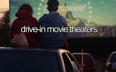 My first trip to the movies was to a drive-in theater. :)
