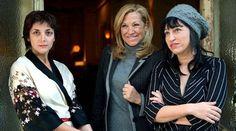 Espido Freire, Lourdes Ventura y Eugenia Rico.