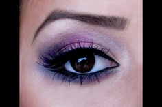 Purple eyes. All Arbonne makeup. Safe, Natural & Beneficial. View product line at: www.britneyjeanhying.myarbonne.com