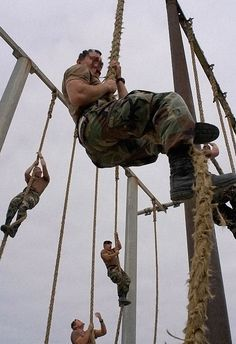 """How to climb a rope like a navy seal - from """"the art of manliness"""" website. heh."""