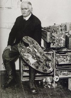 Edvard Munch...check out that palette (and the boots!)