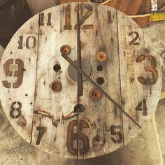 It's a loft clock making kind of time. #design #time #urban #clock
