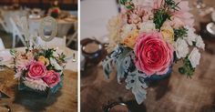 Beautiful table flowers done by Marky!