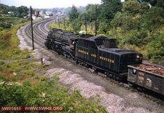 N&W Locomotive No. 2069 Class at Christiansburg, VA Sept. Diesel Locomotive, Steam Locomotive, Virginia Mountains, Train Museum, Milwaukee Road, Railroad History, Steam Railway, Norfolk Southern, Railroad Photography
