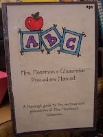 amazing book for teaching beginning of school procedures for kids…Ok…it's too late for this year, but save it, then use it as a model to make your own book this summer before school starts…Wow!