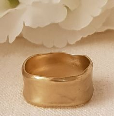 Rustic women band simple wide ring   Etsy Womens Wedding Bands, Wedding Ring Bands, Solid Gold, White Gold, Ring Bracelet, Bracelets, 14k Gold Ring, Engraved Rings, Gold Bands