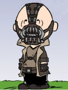 Good grief! I thought Tom hardy was portraying Bane!