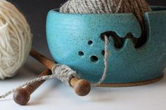 knitting bowl (also good for crochet)