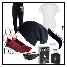 """#WorkoutInStyle"" by jasmin-baja ❤ liked on Polyvore featuring Moschino, Black, Ralph Lauren, Skechers, Oakley and workoutinstyle"