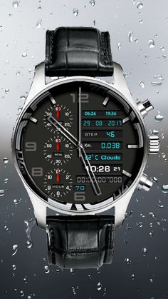 High End Watches, Casual Watches, Cool Watches, Watches For Men, Fancy Watches, Popular Watches, Android Watch, Expensive Watches, Watch Companies