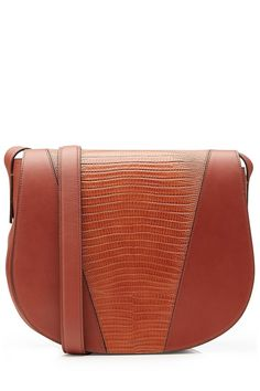 Leather Shoulder Bag #style #fashion #accessories