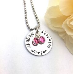 A personal favorite from my Etsy shop https://www.etsy.com/listing/522290656/metal-pendant-hand-stamped-jewelry