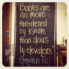 Books will survive!