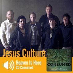 "Escute a música ""Heaven Is Here"" do CD Consumed do Jesus Culture: http://www.onimusic.com.br/player/player.aspx?IdMusica=826&utm_campaign=musicas-oni&utm_medium=post&utm_source=pinterest&utm_content=jesus-heaven-is-here-trecho-player"