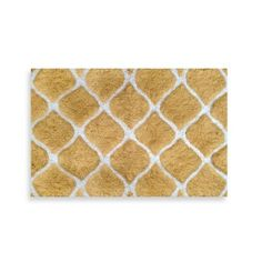 Buy Colordrift Morocco Gold Bath Rug from Bed Bath & Beyond