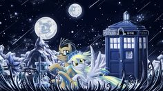 Derpy Hooves and Doctor Whooves? YES PLEASE!