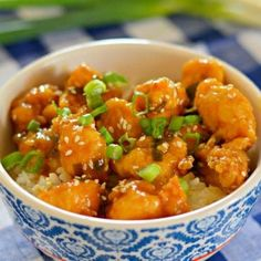 Orange Chicken is one of my favorite Chinese foods, and this recipe is delicious! It is even better than the Orange Chicken at Panda Express! Asian Recipes, Healthy Recipes, Ethnic Recipes, Great Recipes, Dinner Recipes, Orange Chicken, Restaurant Recipes, Chinese Food, Chinese Chicken